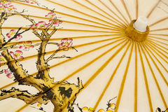 Parapluie japonais traditionnel Images stock
