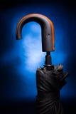 Parapluie le pliage automatique photographie stock libre de droits