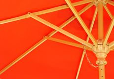 Parapluie rouge Photographie stock libre de droits