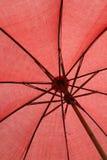 Parapluie rouge Photo stock