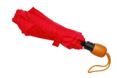 Parapluie rouge Photos stock