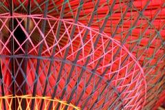 Parapluie rouge japonais Photo libre de droits