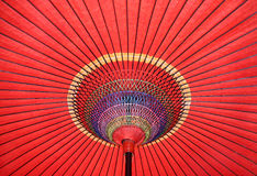 Parapluie traditionnel japonais photographie stock libre de droits