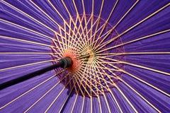 Parapluie traditionnel japonais Photos stock