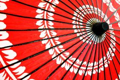 Parapluie traditionnel japonais Photographie stock