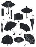 Parapluies Photo libre de droits