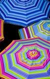 Parapluies colorés Photo libre de droits