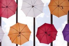 Parapluies colorés photos libres de droits