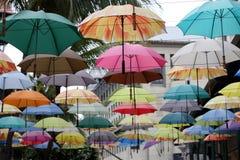 Parapluies colorés Photographie stock libre de droits