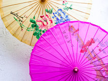 Parapluies d'Oilpaper image libre de droits