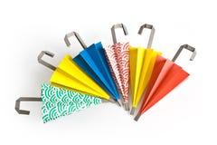Parapluies d'Origami Photographie stock