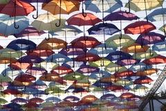 Parapluies dans Odesa photos libres de droits