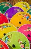 Parapluies de type thaï Image libre de droits