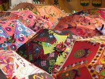 parapluies indiens Images libres de droits