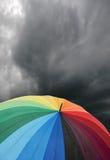 paraply 2 Royaltyfri Fotografi