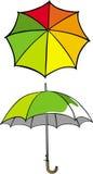 paraply Arkivfoto