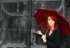 paraply Arkivfoton