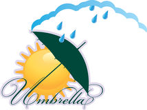 Paraply Royaltyfria Bilder