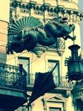 Paraply Drangon Royaltyfri Bild