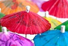 paraply för 03 coctailserie Arkivfoton