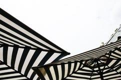 Paraply på kall Royaltyfri Bild