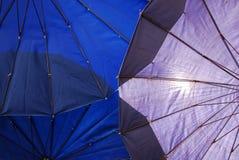 Paraply under Royaltyfria Bilder