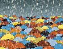 paraplyer Arkivbild