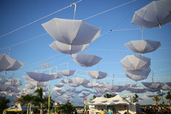 paraplyer Royaltyfria Foton
