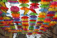 paraplyer Arkivfoto