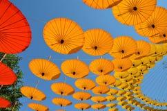 Paraplyer av Chiang Mai 10 Royaltyfri Bild