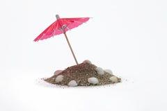 Paraplyer för coctailar Fotografering för Bildbyråer