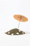 Paraplyer för coctailar Arkivbild