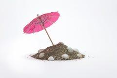 Paraplyer för coctailar Royaltyfri Foto
