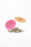 Paraplyer för coctailar Royaltyfria Bilder