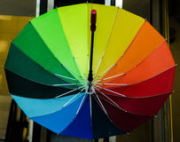Paraplyer - konst arkivfoton