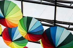 Paraplyer - konst royaltyfri fotografi