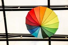 Paraplyer - konst Royaltyfria Foton