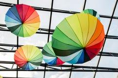 Paraplyer - konst Royaltyfri Foto