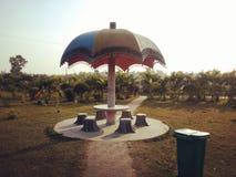 Paraplyet fotografering för bildbyråer