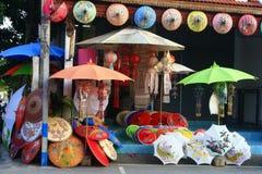 Paraplyet shoppar Royaltyfria Bilder