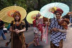 Paraplyfestival Royaltyfria Bilder