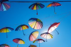 Paraplyhimmel Royaltyfria Foton