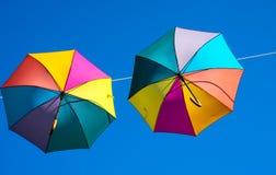 Paraplyhimmel Arkivfoto