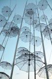 Paraplykonstverk av Giorgos Zogolopoulos arkivfoto