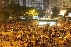 Paraplyrörelse i Hong Kong Royaltyfri Bild