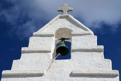 Paraportiani Greek Orthodox church in Mykonos, Greece Stock Photo