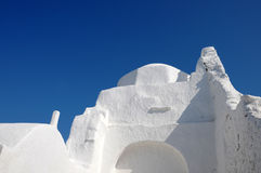 Paraportiani, Mykonos, Greece Royalty Free Stock Photo