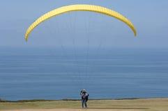 parasail żółty Obraz Royalty Free