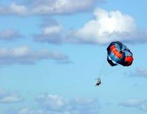 parasail стоковое изображение rf