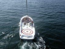 Parasail boat Royalty Free Stock Images